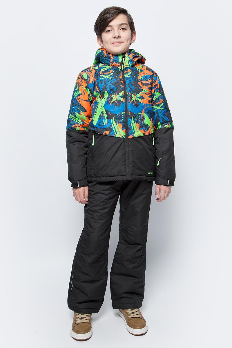 Комплект для мальчика Icepeak: куртка, брюки, цвет: оранжевый. 852131522IV_999. Размер 140852131522IV_999