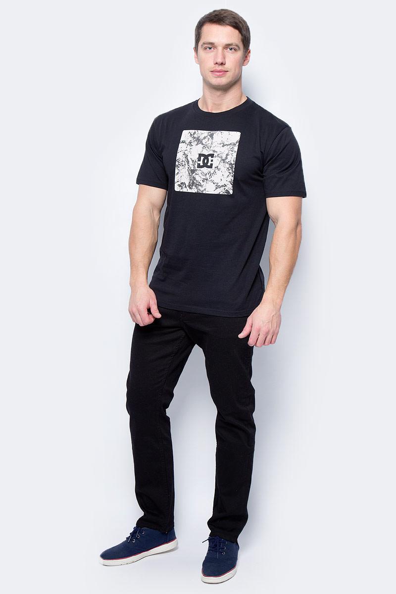 Футболка мужская DC Shoes, цвет: черный. EDYZT03637-KVJ0. Размер L (52) dc shoes dc329ewpfh67 dc shoes