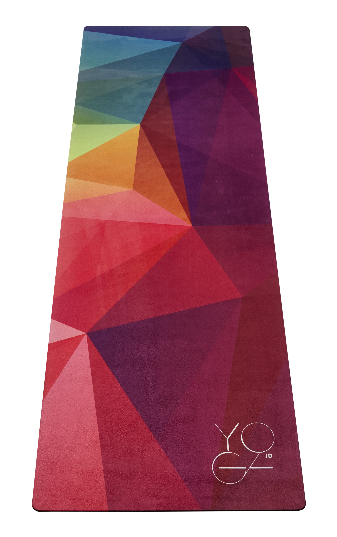 Коврик для йоги Yoga ID  Europe , цвет: розовый, 173 х 61 х 0,3 см - Инвентарь