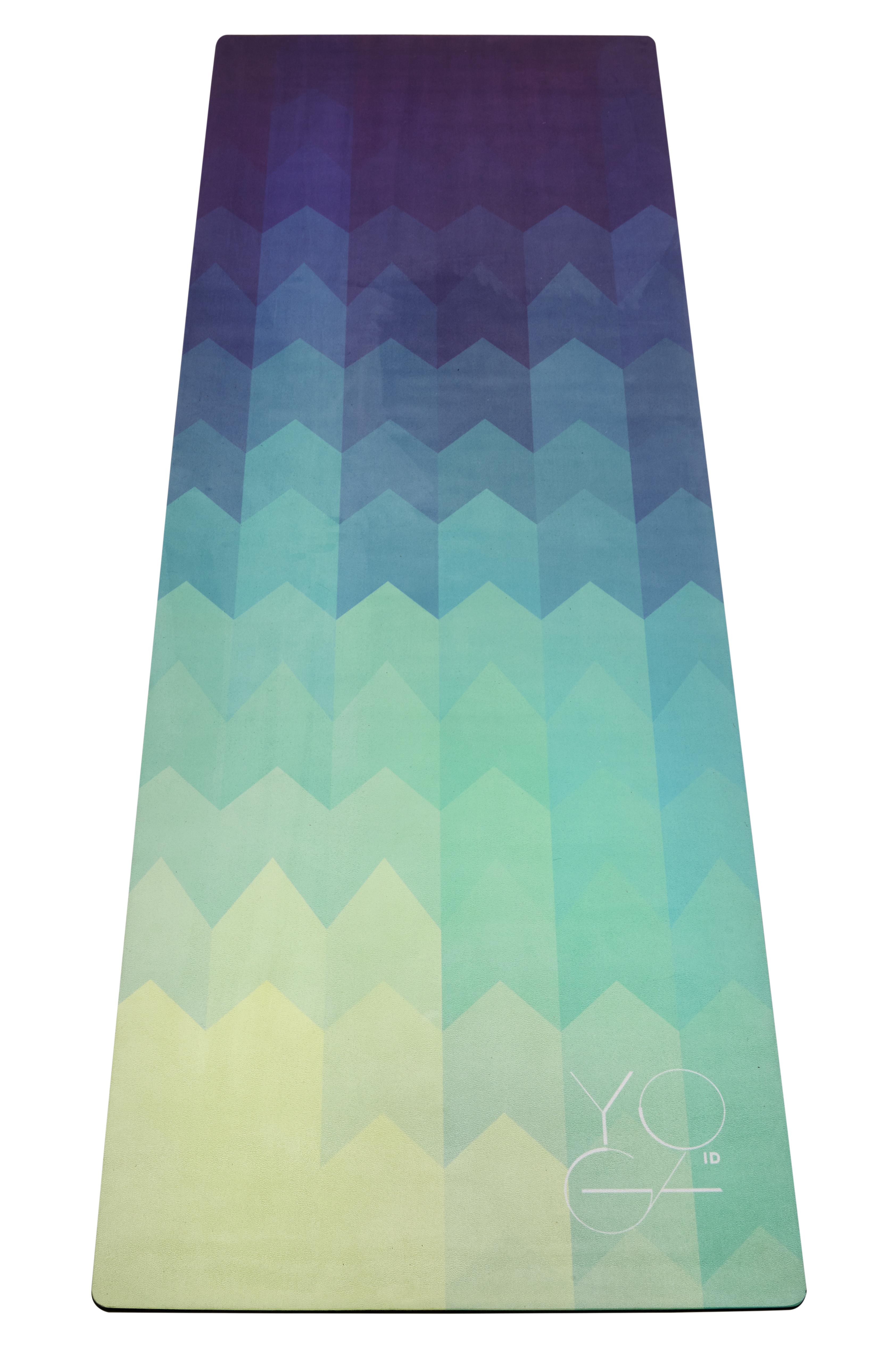 Коврик для йоги Yoga ID America , цвет: голубой, 173 х 61 х 0,3 см avengers маска captain america цвет голубой