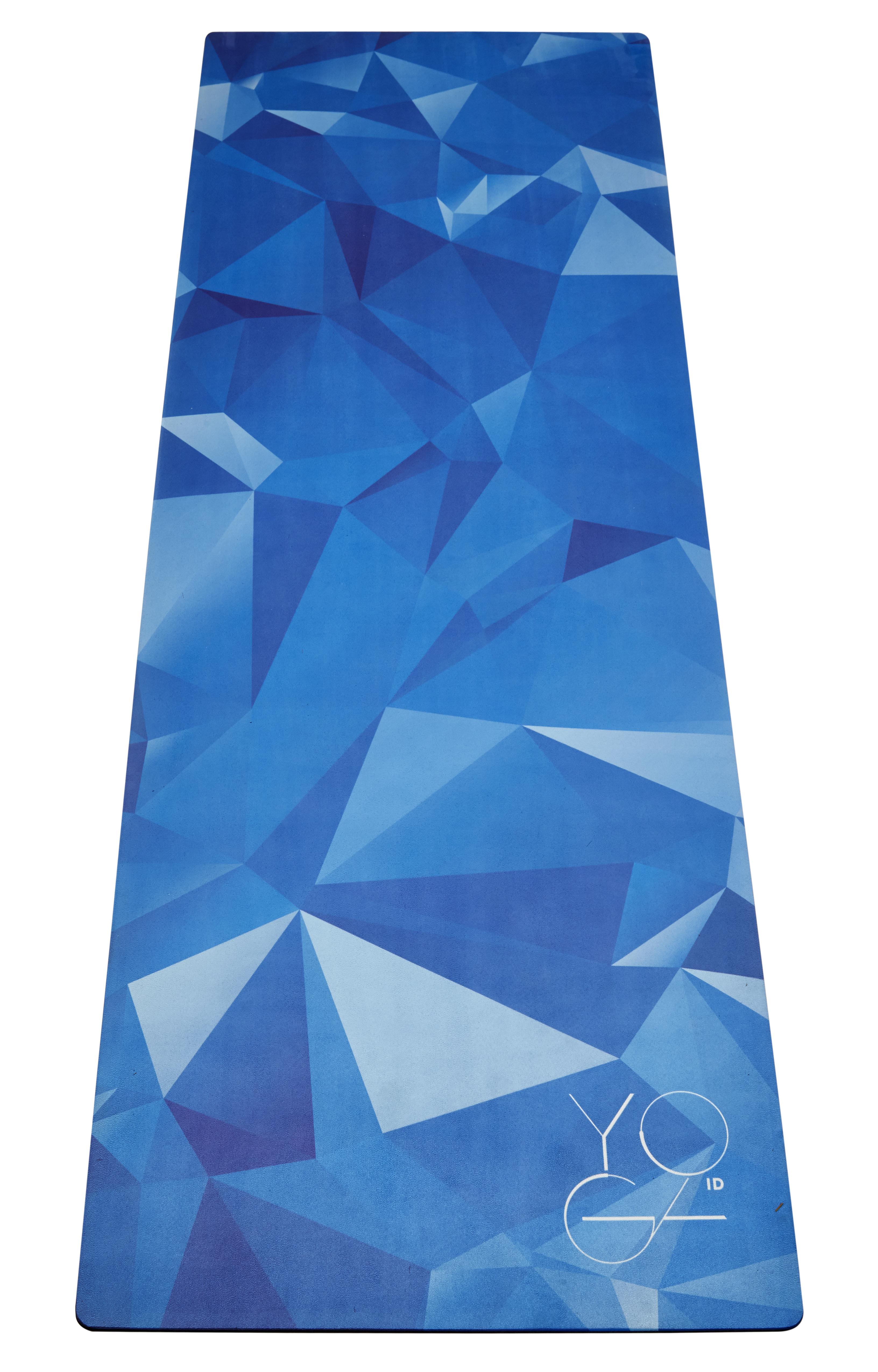 Коврик для йоги Yoga ID  Antarctica , цвет: синий, 173 х 61 х 0,3 см - Инвентарь