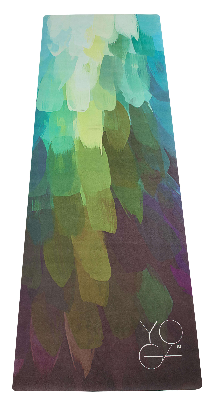 Коврик для йоги Yoga ID Pinecone , цвет: зеленый, 173 х 61 х 0,3 см0015Дизайнерский коврик Yoga ID- идеальный коврик для динамических практик, совмещающий в себе функции коврика и полотенца. Основание из натурального органического каучука обеспечивает надежную сцепку с любой поверхностью, а абсорбирующее покрытие microfiber предотвращает скольжение! И, в конце концов, это просто красиво! Характеристики: Размер: 1730 x 610 мм. Толщина: 3 мм. Вес: 2,3 кг. Материал: натуральный каучук, покрытие microfiber. В комплект входит переноска для коврика. Рекомендации по использованию:-рекомендуется ручная стирка при температуре 30°С с деликатным моющим средством.Для еще лучшей стабилизации в определенных асанах рекомендуется смачивать ладони водой перед началом практики.