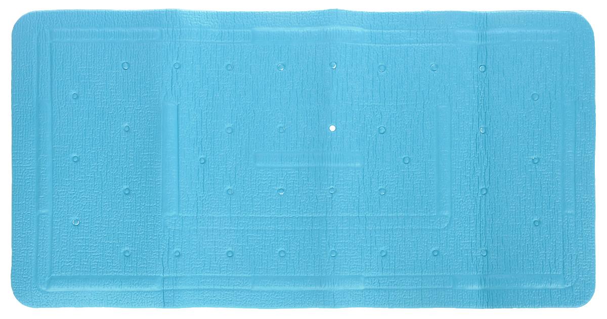 Коврик в ванну Bacchetta, цвет: зеленый, 36 х 71 см1607Практичный коврик на присосках для ванной. Коврик выполнен из высококачественного вспененного ПВХ, поэтому изделие обладает мягкостью и эластичностью. Коврик подходит для всех типов ванн и душевых кабин, он хорошо фиксируется на поверхности за счет вакуумных присосок. Предназначен для использования в ванной или душевой кабине в гигиенических целях и для обеспечения безопасности. Коврик предотвращает возможность травм при падении на скользкой поверхности.