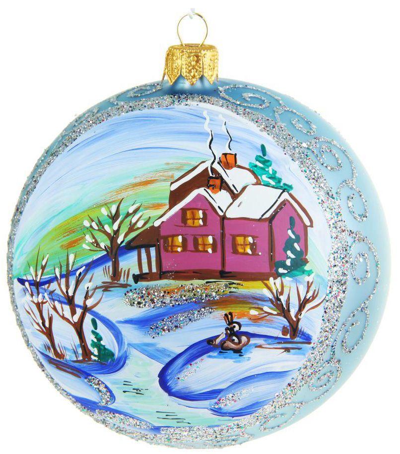 Украшение новогоднее елочное Иней Утро, цвет: голубой, диаметр 10 см1519283_белыйНовогоднее подвесное украшение Иней отлично подойдет для декорации вашего дома и новогодней ели. Новогоднее украшение можно повесить в любом понравившемся вам месте. Но, конечно, удачнее всего оно будет смотреться на праздничной елке.Елочная игрушка - символ Нового года. Она несет в себе волшебство и красоту праздника. Такое украшение создаст в вашем доме атмосферу праздника, веселья и радости.