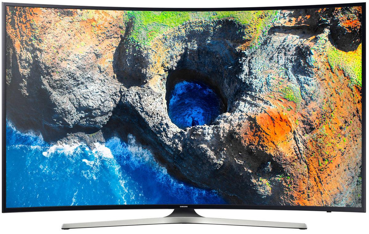Samsung UE49MU6303UX телевизорUE-49MU6303UXОцените четкость передачи деталей с UHD разрешением телевизора Samsung UE49MU6303UX, в 4 раза превосходящим разрешение Full HD. Откройте новый уровень качества изображения благодаря естественной цветопередаче и высокому уровню яркости.Функция Purcolour делает цвета более естественными. Погрузитесь в атмосферу ТВ развлечений и оцените, насколько точно и естественно отображаются цвета на экране.Изображение на экране как в реальной жизни. Благодаря более высокой яркости изображения, вы ощутите незабываемые впечатления от технологии расширения динамического диапазона HDR.Функция Auto Depth Enhancer меняет контрастность отдельных участков изображения, создавая эффект пространственной глубины. Оцените реальный эффект погружения в происходящее на экране.Изогнутый экран телевизора позволят вам оказаться в центре происходящего на экране благодаря более широкому углу обзора и оптимально комфортному расстоянию до экрана.Новый сервис Smart Hub обеспечивает единый доступ ко всем источникам контента - эфирным каналам, интернет-провайдерам, игровым ресурсам и не только. Теперь вы можете получить доступ к любимому контенту сразу после включения телевизора.С помощью приложения Samsung Smart View вы можете легко перенести свои снимки, видео и музыку со смартфона, планшета или ПК на экран телевизора. Новые телевизоры Samsung совместимы с большинством современных персональных устройств.Благодаря мощному 4-ядерному процессору, отклик на команды в Samsung Smart ТВ стал еще быстрее, а приложения запускаются практически мгновенно.