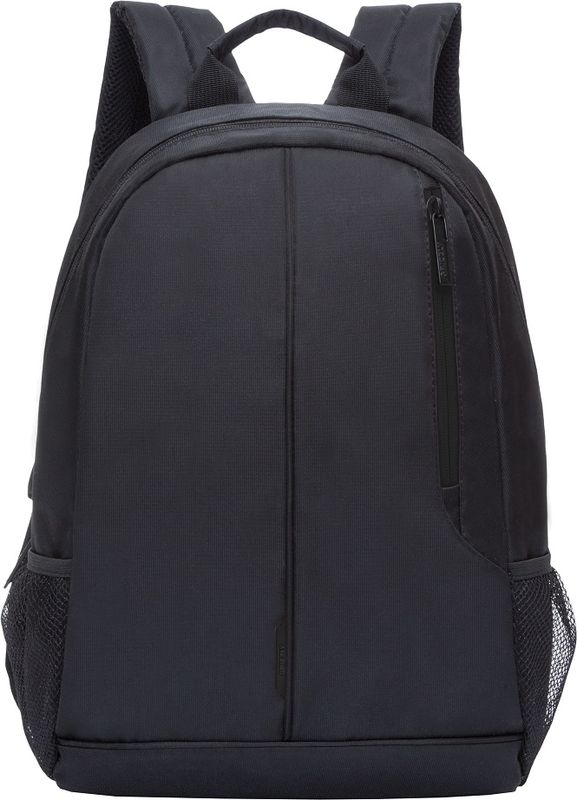 Рюкзак молодежный Grizzly, цвет: черный, 15,5 л. RL-852-1/2RL-852-1/2Рюкзак молодежный Grizzly. Рюкзак молодежный, одно отделение, карман на молнии на передней стенке,боковые карманы из сетки, внутренний карман для электронных устройств, мягкаяспинка, карман быстрого доступа на задней стенке, мягкая укрепленная ручка,укрепленные лямки. Объем: 15,5 л.