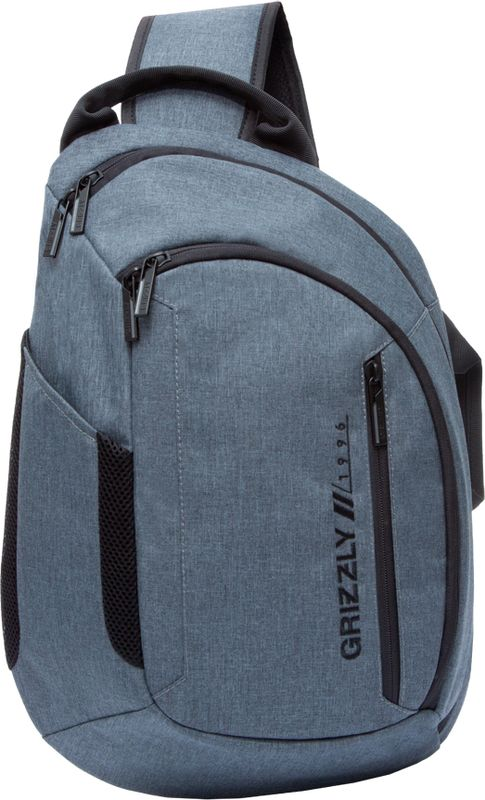 Рюкзак молодежный Grizzly, цвет: серый, 14 л. RU-805-3/3RU-805-3/3Стильный молодежный рюкзак Grizzly выполнен из полиэстера. Имеет одно отделение, два передних кармана на молнии, боковой карман, карман для телефона на лямке, внутренний карман для ноутбука, внутренний карман на молнии и внутренний карман-пенал для карандашей. Оснащен укрепленной спинкой, дополнительной ручкой-петлей и одной укрепленной лямкой.