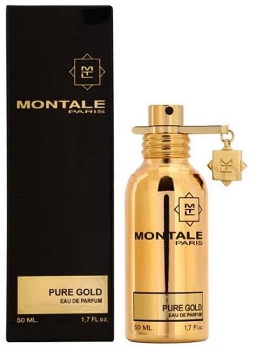 Montale Pure Gold парфюмерная вода, 50 мл парфюмированная вода montale orange flowers 20 мл