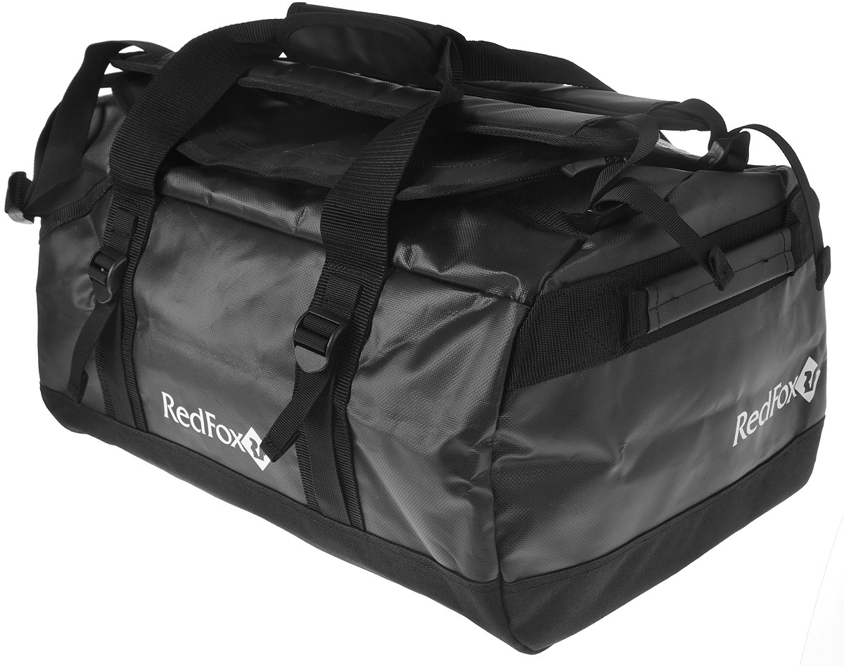 Баул Red Fox Expedition Duffel Bag, цвет: черный, 30 л