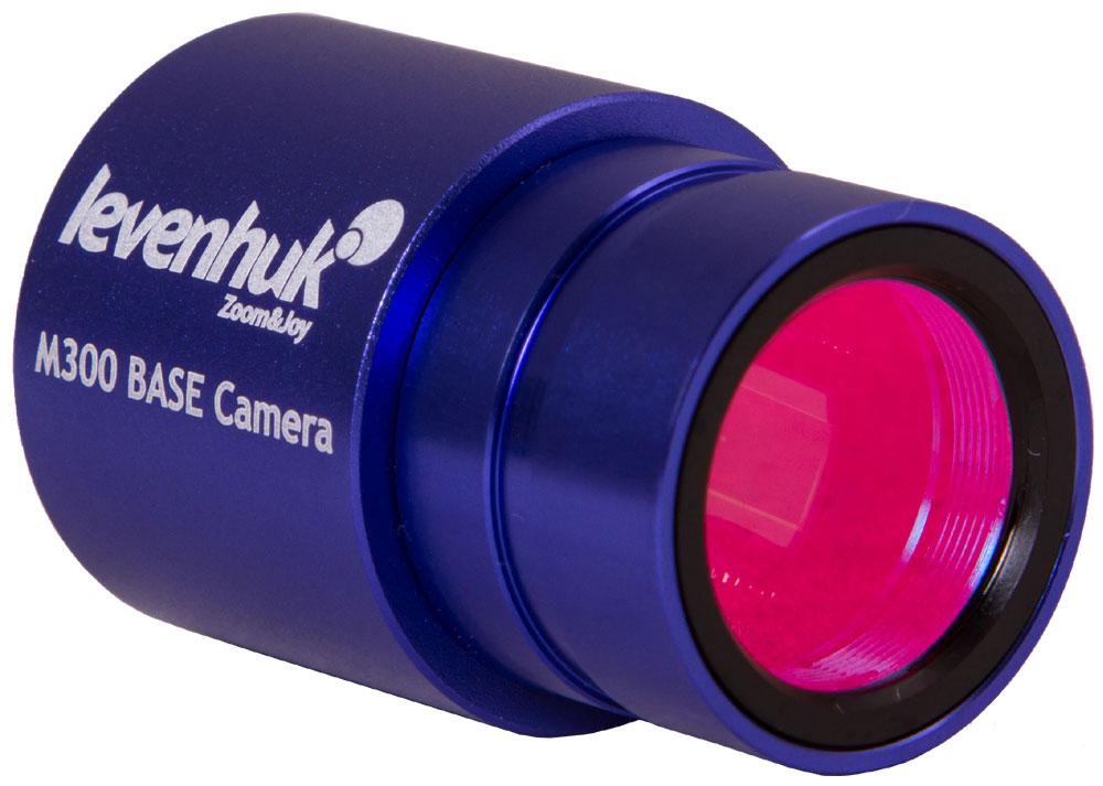 Levenhuk M300 Base камера цифровая70355Современная цифровая камера Levenhuk M300 Base позволяет фотографировать микропрепараты, снимать видео и передавать изображение с объектива на экран компьютера. С помощью камеры и специальной программы (в комплекте) можно детально рассматривать изучаемые образцы, записывать интересные моменты наблюдений, монтировать видео и обрабатывать изображения.компьютера или ноутбука в режиме реального времени.Levenhuk M300 Base можно установить в любой биологический или инструментальный микроскоп с диаметром окулярной трубки 23,2 мм. Если у вас микроскоп другого стандарта, для установки камеры используйте специальный адаптер (приобретается отдельно). Чтобы начать работу с камерой, присоедините ее к компьютеру с помощью комплектного USB-кабеля и установите программное обеспечение с прилагаемого диска.Данная модель - это простой способ сделать из оптического прибора современный цифровой микроскоп. Камера найдет применение в учебе и работе, станет отличным аксессуаром для научного хобби.В комплекте с камерой идет специальная редакционная программа, которая позволит при необходимости откорректировать цвета, кадрировать изображение и прочее.Камера совместима с Mac OS, Linux, Windows, для подключения необходим порт USB 2.0. Она подходит к микроскопам с посадочным диаметром окулярной трубки 23,2 мм. Также камеру можно установить на окулярные трубки других диаметров при помощи переходников (в комплект не входят).Спектральный диапазон: 380–650 нм (встроенный ИК-фильтр) Тип затвора: ERS (электронная моментальная фотография) Баланс белого: авто/ручной Контроль экспозиции: авто/ручной