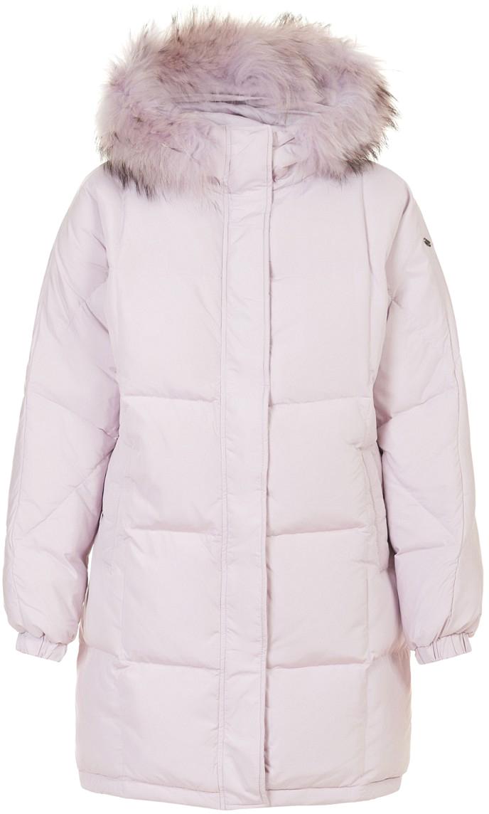 Пуховик женский Baon, цвет: розовый. B007583_Cold Peony. Размер L (48)