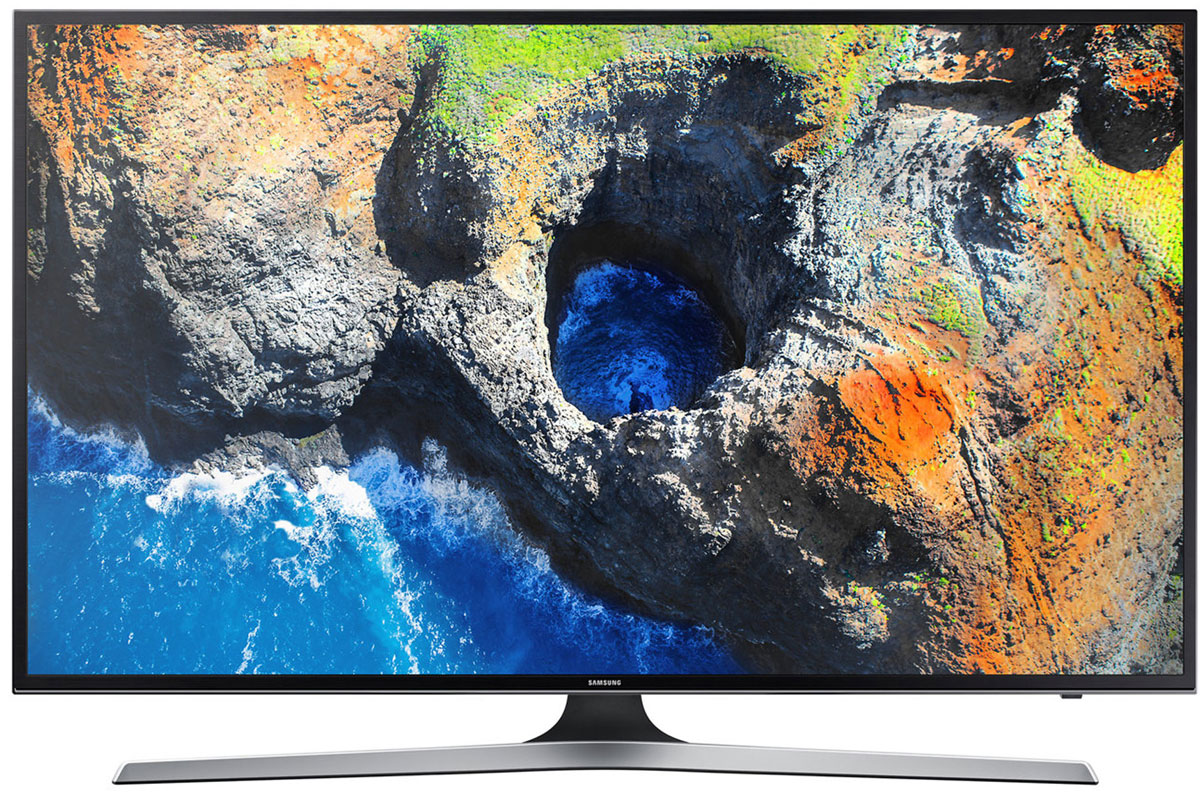 Samsung UE49MU6103UX телевизорUE-49MU6103UXОцените четкость передачи деталей с UHD разрешением телевизора Samsung UE49MU6103UX, в 4 раза превосходящим разрешение Full HD. Откройте новый уровень качества изображения благодаря естественной цветопередаче и высокому уровню яркости.Функция Purcolour делает цвета более естественными. Погрузитесь в атмосферу ТВ развлечений и оцените, насколько точно и естественно отображаются цвета на экране.Изображение на экране как в реальной жизни. Благодаря более высокой яркости изображения, вы ощутите незабываемые впечатления от технологии расширения динамического диапазона HDR.Технология затемнения фрагментов экрана UHD Dimming делит экран на блоки, оптимизирует цвет, увеличивает контрастность для выявления деталей в самых темных и светлых участках изображения.Новый сервис Smart Hub обеспечивает единый доступ ко всем источникам контента - эфирным каналам, интернет-провайдерам, игровым ресурсам и не только. Теперь вы можете получить доступ к любимому контенту сразу после включения телевизора.С помощью приложения Samsung Smart View вы можете легко перенести свои снимки, видео и музыку со смартфона, планшета или ПК на экран телевизора. Новые телевизоры Samsung совместимы с большинством современных персональных устройств.
