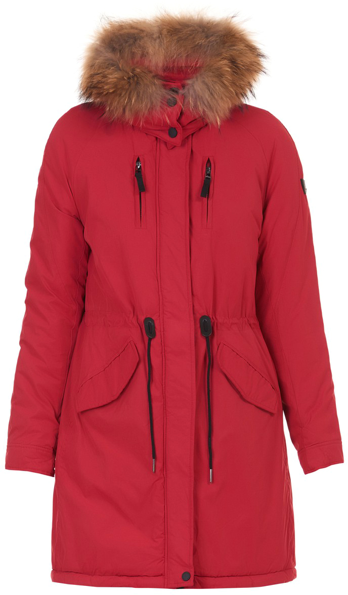 Куртка женская Baon, цвет: синий. B037542_Dark Navy. Размер XL (50)B037542_Dark Navy