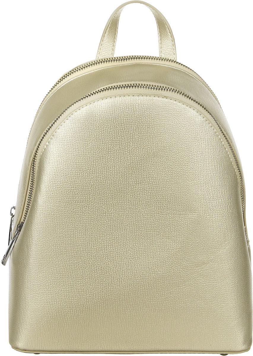 Рюкзак женский DDA, цвет: серебристый. DDA LB-2043SL рюкзак женский dda цвет песочный dda sb 1052 dg
