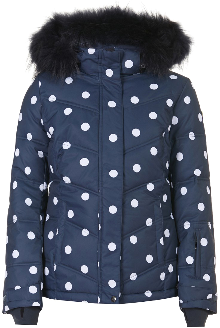 Куртка женская Baon, цвет: синий. B037901_Dark Navy Printed. Размер L (48)B037901_Dark Navy PrintedКуртка женская Baon с длинными рукавами и капюшоном выполнено из полиэстера. Наполнитель - полиэстер. Изделие дополнено оригинальным принтом.