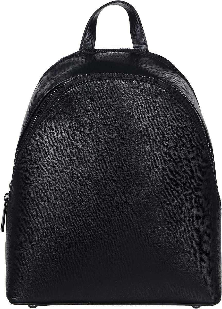 Рюкзак женский DDA, цвет: черный. DDA LB-2044BK рюкзак женский dda цвет песочный dda sb 1052 dg