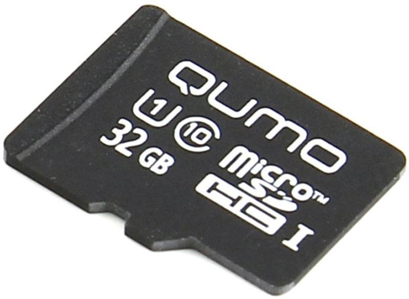 QUMO microSDHC Сlass 10 32GB карта памяти (без адаптера) microsdhc 64gb
