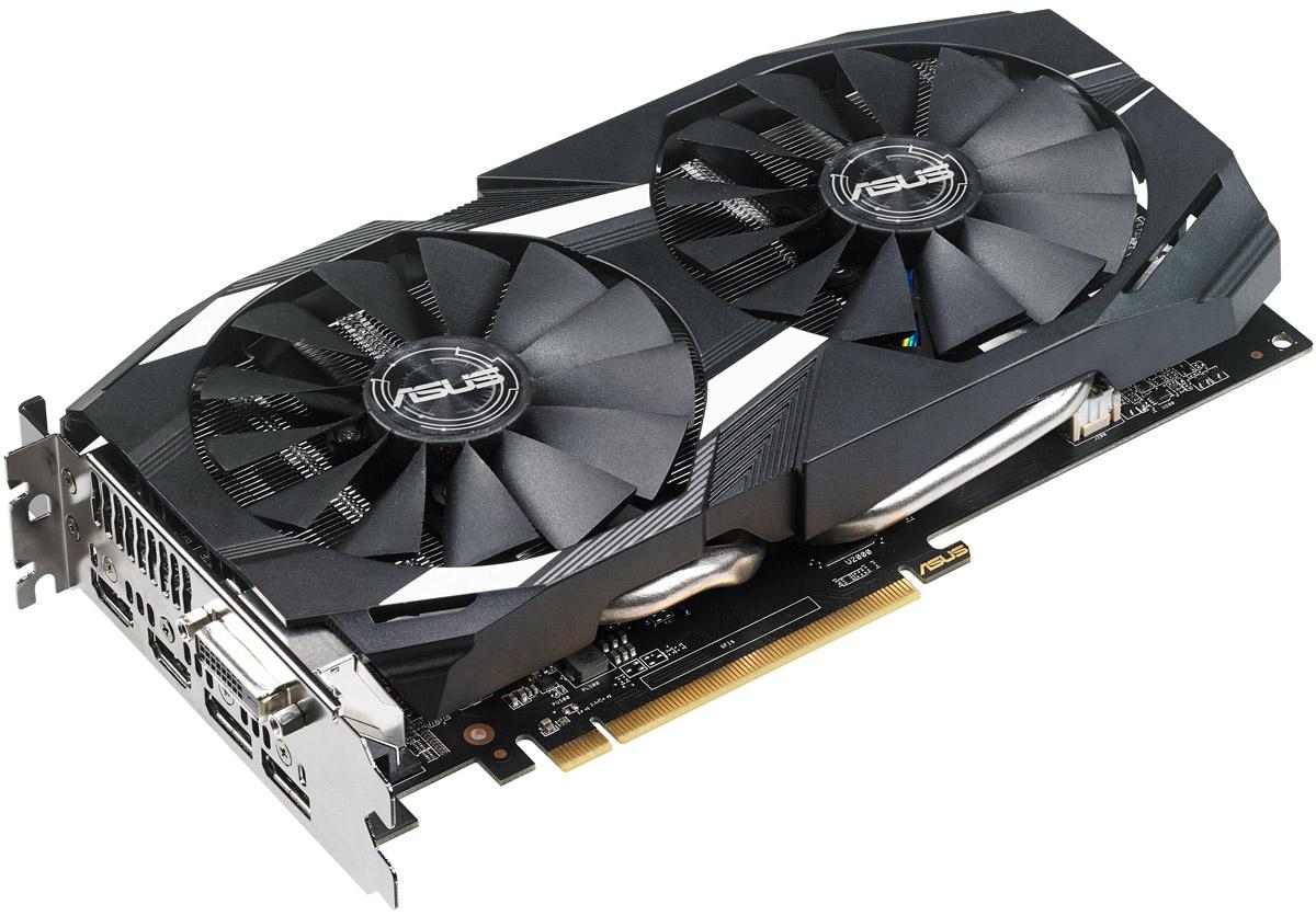 ASUS Dual Radeon RX 580 OC 4GB видеокарта