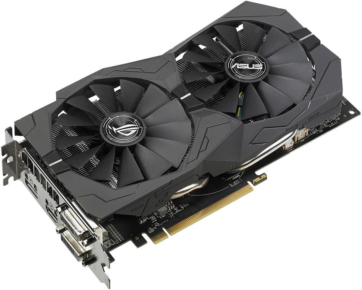 ASUS ROG Strix Radeon RX 570 4GB видеокарта
