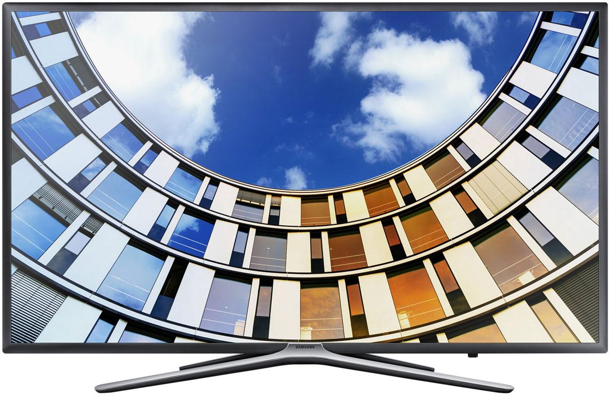 Samsung UE49M5503AUX телевизорUE-49M5503AUXFull HD телевизор Samsung UE49M5503AUX подарит вам необыкновенный захватывающий мир. Получите новые впечатления от уже любимых фильмов и ТВ программ.Технология Ultra Clean View анализирует контент и снижает уровень шумов с помощью специального алгоритма обработки сигнала. Даже если исходный видеосигнал имеет качество ниже Full HD, изображение будет улучшено до качества, сравнимого с Full HD стандартом.Технология Contrast Enhancer обеспечивает более объемное изображение благодаря эффекту перспективы. Функция усиления контрастности регулирует четкость фрагментов изображения на разных планах, превращая плоское изображение в объемное.Функция Samsung Micro Dimming Pro формирует более глубокие оттенки черного и белого, обеспечивая удивительную чистоту и контрастность изображения. Оцените реалистичность изображения развлекательного контента.Функция Purcolour делает цвета более естественными. Погрузитесь в атмосферу ТВ развлечений и оцените, насколько точно и естественно отображаются цвета на экране.Новый сервис Smart Hub обеспечивает единый доступ ко всем источникам контента - эфирным каналам, интернет-провайдерам, игровым ресурсам, и не только. Теперь вы можете получить доступ к любимому контенту сразу после включения телевизора.С помощью приложения Samsung Smart View вы можете легко перенести свои снимки, видео и музыку со смартфона, планшета или ПК на экран телевизора. Новые телевизоры Samsung совместимы с большинством современных персональных устройств.