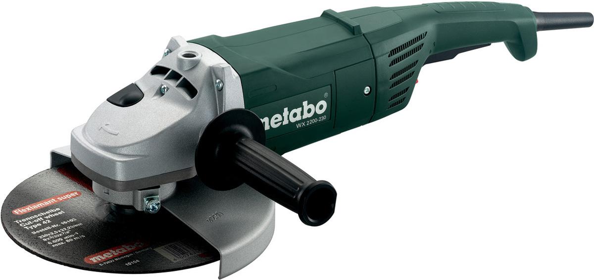 Шлифмашина угловая Metabo WX2200-230 шлифмашина угловая hitachi g13ss