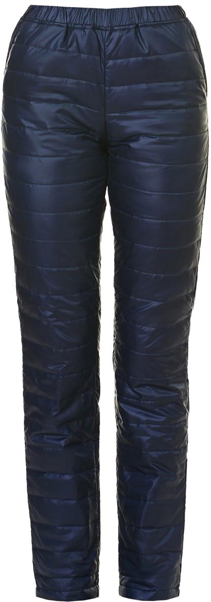 Брюки женские Baon, цвет: синий. B297503_Dark Navy. Размер XXL (52) юбка baon цвет синий b477026 larkspur размер xxl 52