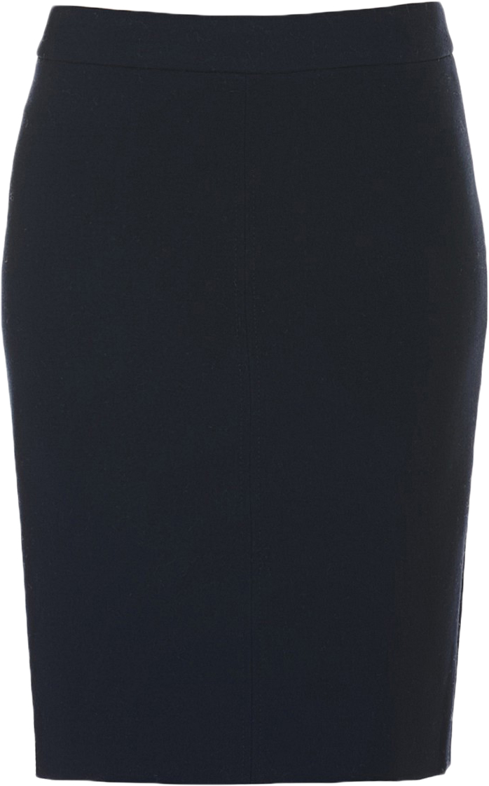 Юбка Baon, цвет: синий. B477515_Dark Navy. Размер XS (42)