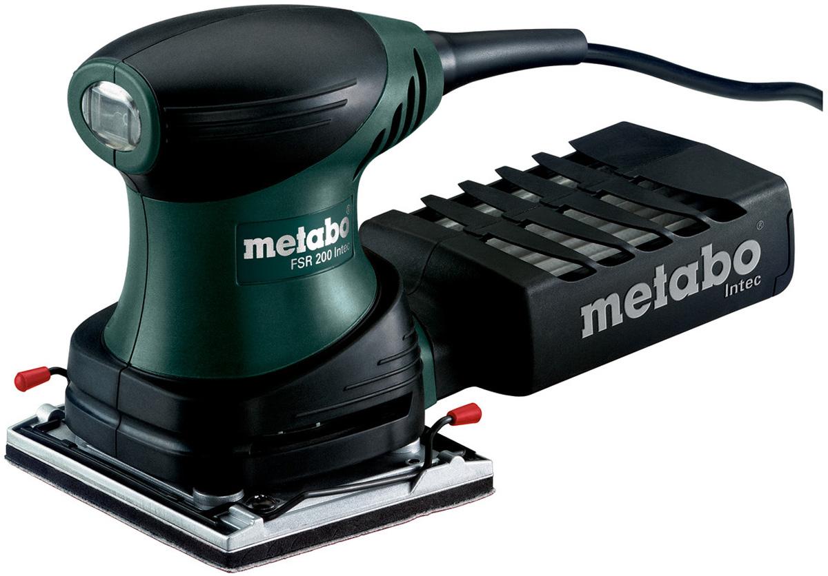 Шлифмашина вибрационная Metabo FSR 200 Intec600066500Плоская шлифовальная машина Metabo FSR 200 Inteс предусмотрена для шлифованияразных поверхностей, таких как металл, дерево, камень. Удобство конструкции и малый вес инструмента позволяют работать одной рукой. Система фильтрации Intec, которой оснащен инструмент, позволяет выполнять многократную очистку.Предназначена для работы одной рукой. Очень хорошее соотношение вес/производительность, благодаря чему машина идеальна для работы с объектом над головой, Область возле рукоятки снабжена нескользящей накладкой Softgrip. Особенности:Пылезащищенные шариковые подшипники для обеспечения долгого срока службы машины. Прочная система зажима для шлифовальной бумаги как на липучке, так и без нее. Пылесборная кассета с фильтром для работы без подключения пылесоса. Возможность пылеудаления путем подключения универсального пылесоса с адаптером (принадлежности).