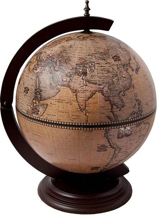 Бар декоративный Глобус, диаметр глобуса 42 см, 45 х 42 х 60 см