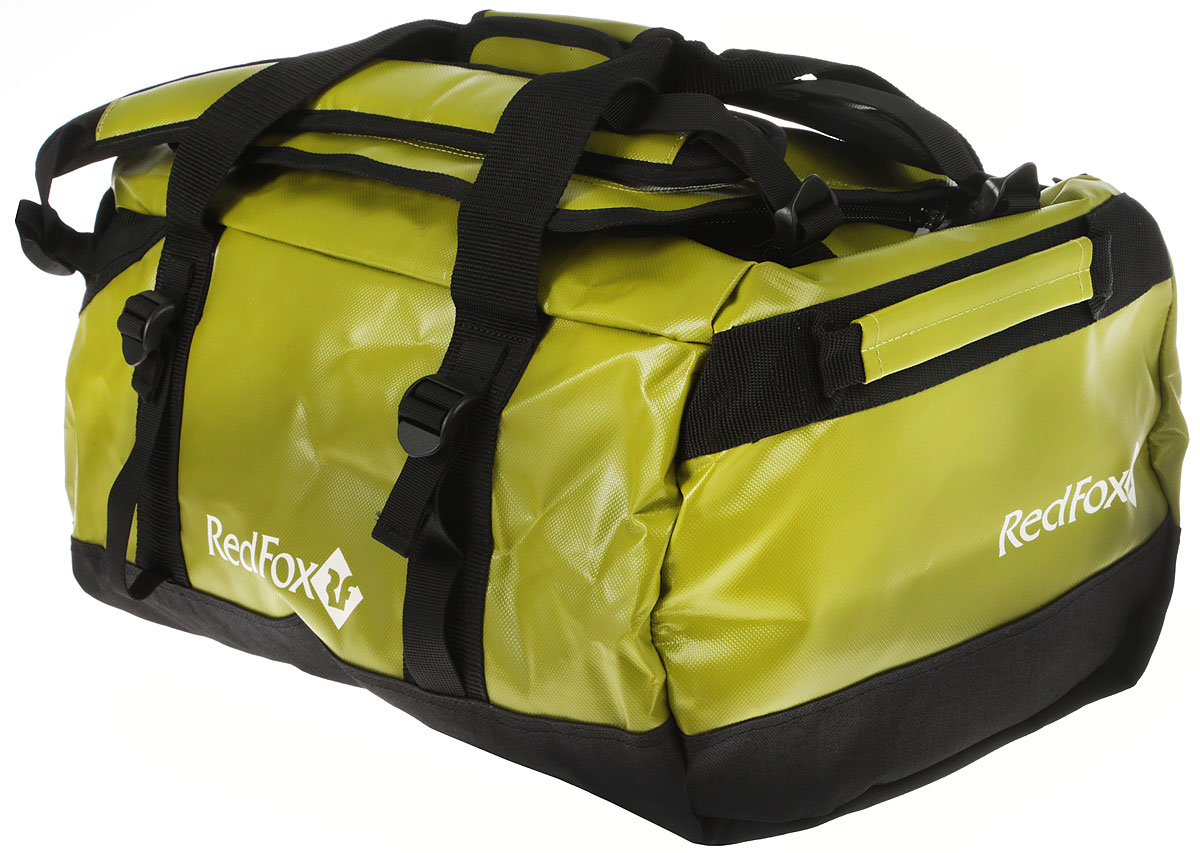 Баул Red Fox Expedition Duffel Bag, цвет: лайм, 30 л