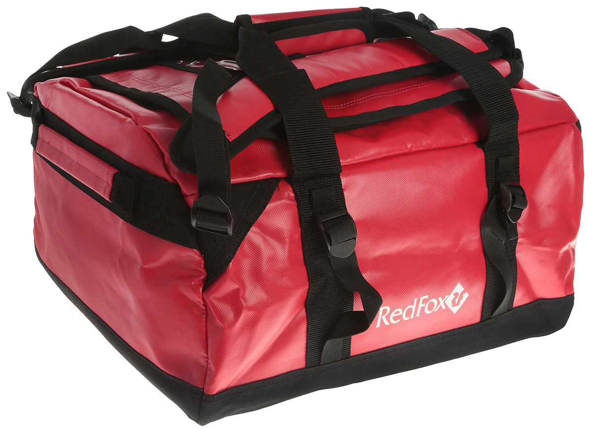 Баул Red Fox Expedition Duffel Bag, цвет: красный, 30 л