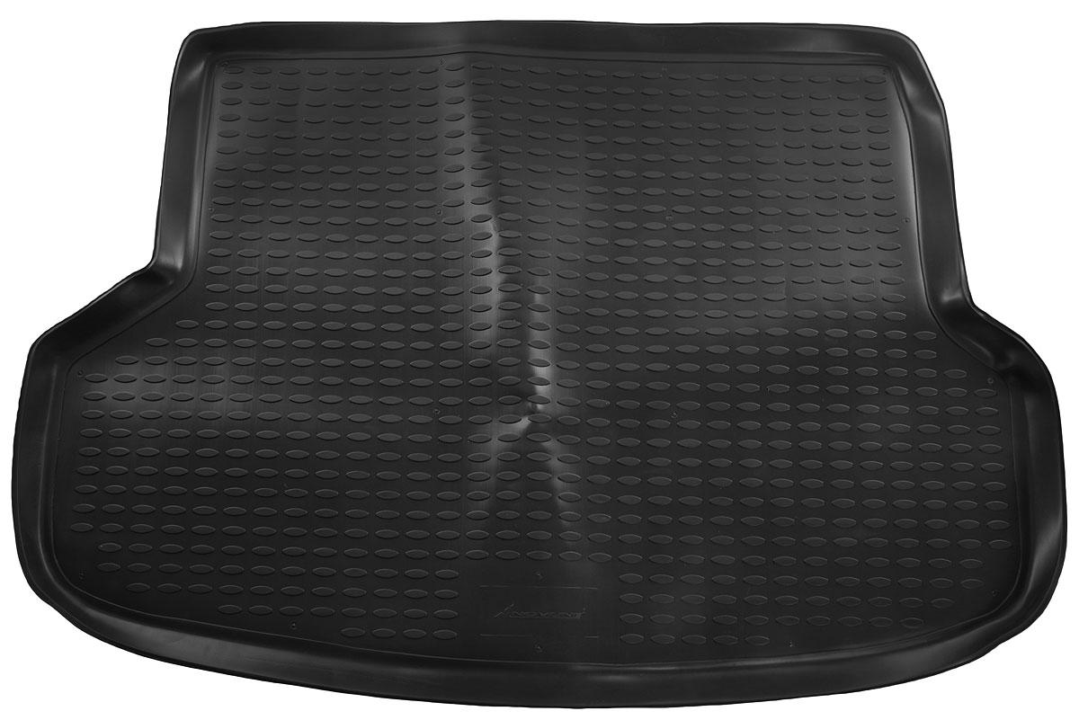 Коврик в багажник автомобиля Novline-Autofamily для Mitsubishi Lancer, 2003 - 2007 коврик автомобильный novline autofamily для honda element кроссовер 2003 в багажник