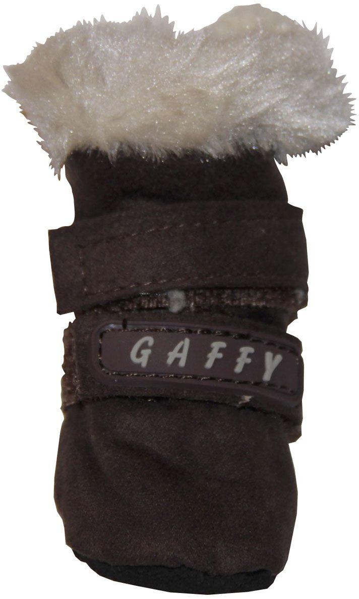 Ботинки для собак  Gaffy Pet , цвет: коричневый. Размер S - Одежда, обувь, украшения