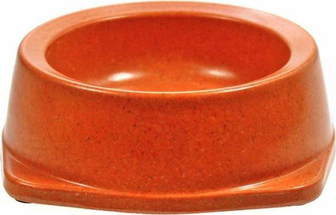 Миска для собак Gaffy Pet, цвет: оранжевый, 300 мл11042 оранжеваяЭкологичные и прочные миски из растительных волокон. Сделаны из биоразлагаемых волокон. Не токсичны, не имеют запаха, натуральные. Прослужат вам дольше, чем меламиновые миски. Все миски имеют резиновые нескользящие ножки.