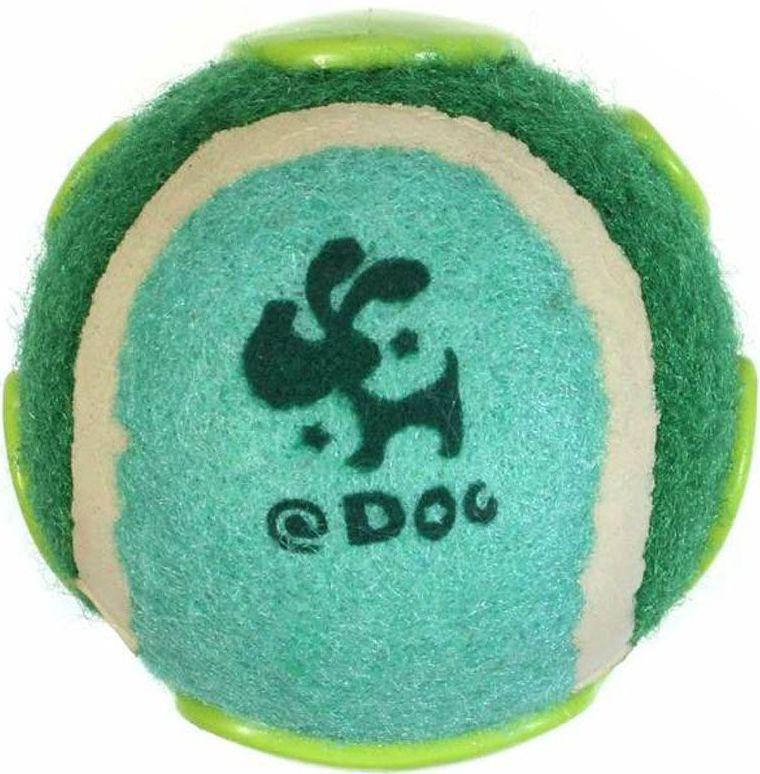 Игрушка для собак Gaffy Pet Мячик теннисный с фиксатором на поясе, цвет: зеленый, 7,5 х 7 см11048 зеленыйПростое и удобное решение, просто пристегните его к поясу перед прогулкой.