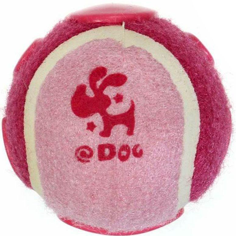 Игрушка для собак Gaffy Pet Мячик теннисный с фиксатором на поясе, цвет: розовый, 7,5 х 7 см11048 розовыйПростое и удобное решение, просто пристегните его к поясу перед прогулкой.