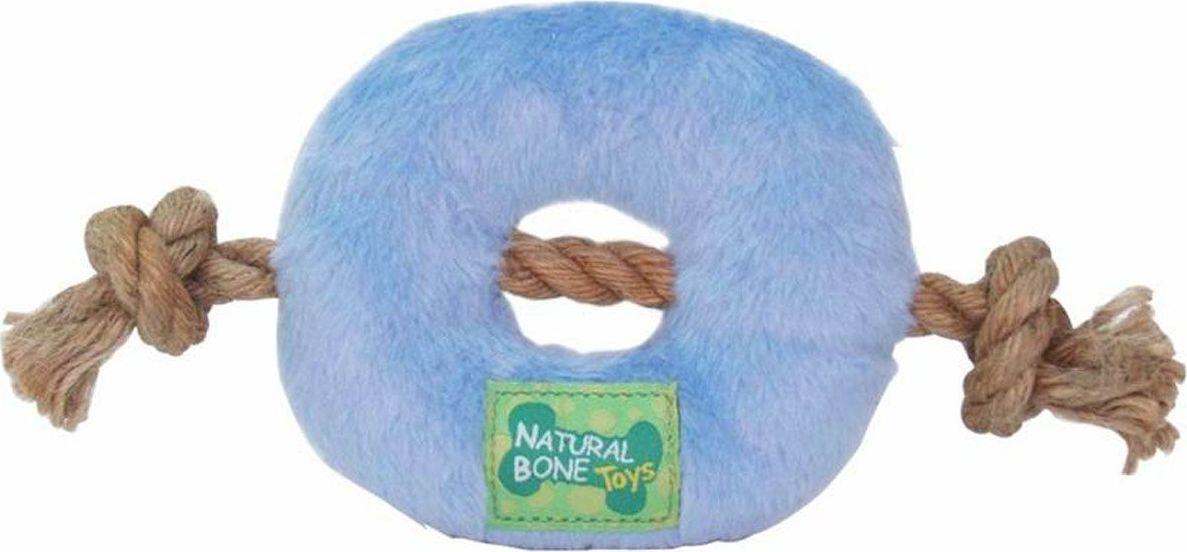 Игрушка для собак Gaffy Pet Бублик мягкий с веревками, цвет: голубой, 22 см11056Игрушка для собак Gaffy Pet Бублик мягкий с веревками, выполнена из плюша, с двух сторон она имеет сизалевые веревки.Создана специально для щенков. Но и взрослой собаке очень понравится.Игрушка имеет оригинальный дизайн, она очень прочная и долговечная.Длина: 22 см.