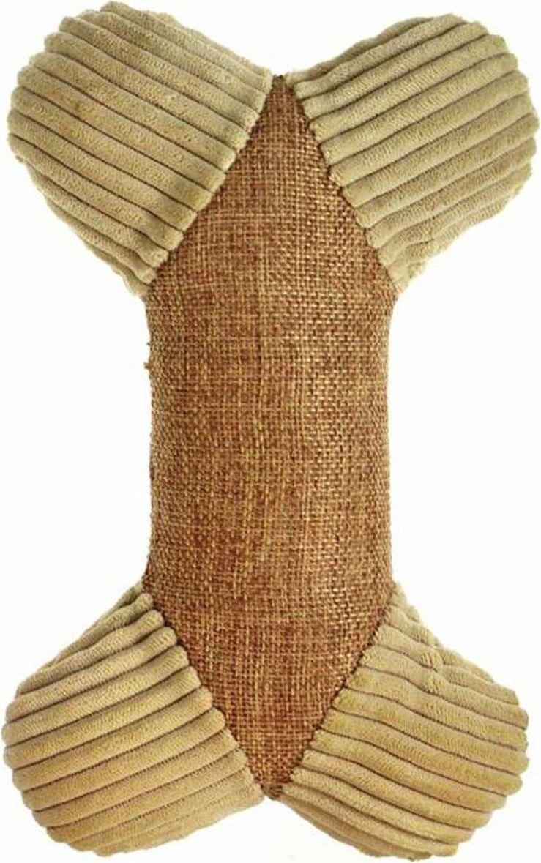 Игрушка для собак Gaffy Pet Косточка мягкая экологичная, 22 см игрушка для собак dezzie косточка