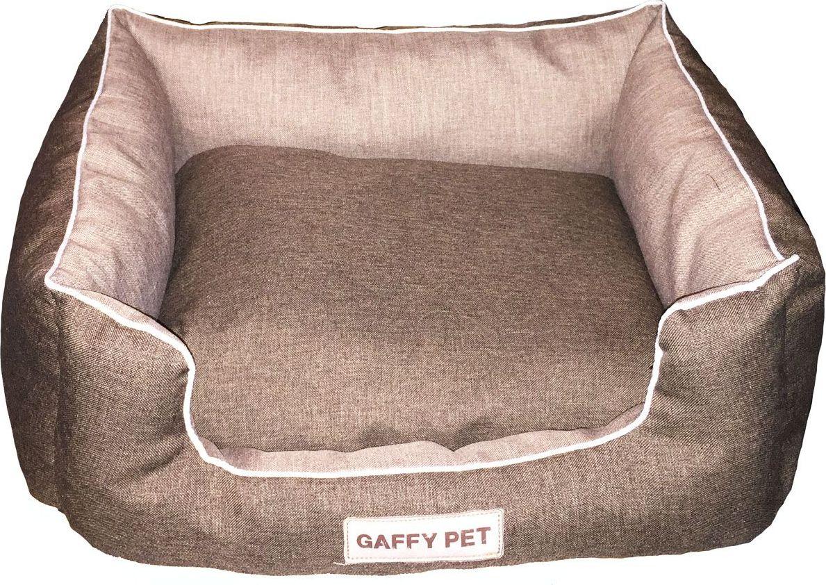 Лежак для животных Gaffy Pet Square, цвет: шоколадный, 65 х 55 х 25 см11084LКвадратные лежанки с высокими бортами. Базовые классические цвета. Контрасное сочетание тканей. Прекрасно вписывается в любой современный интерьер. Использование профессиональных тканей дает владельцам питомцев большое преимущество в чистке и уходе без ущерба внешнему виду. Прочные и долговечные.