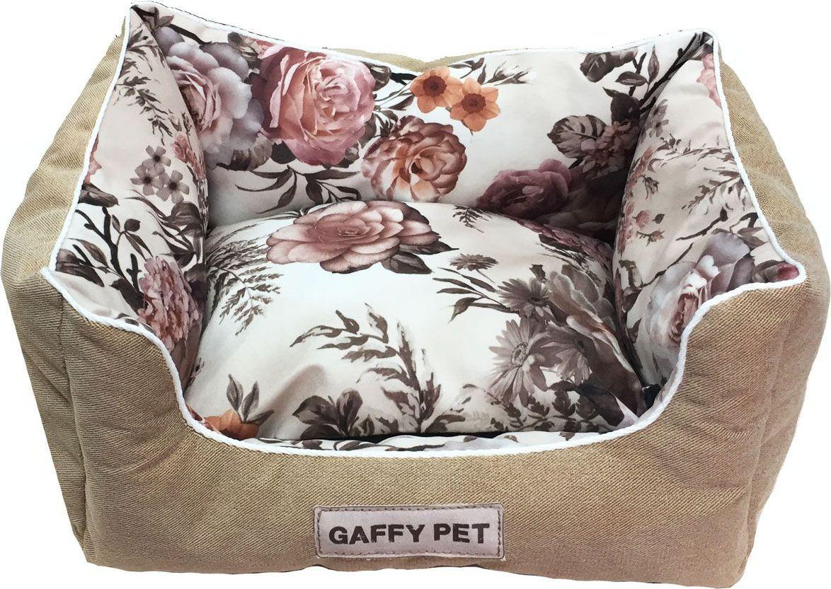 """Лежак для животных Gaffy Pet """"Pion"""", цвет: бежевый, 45 х 35 х 22 см"""