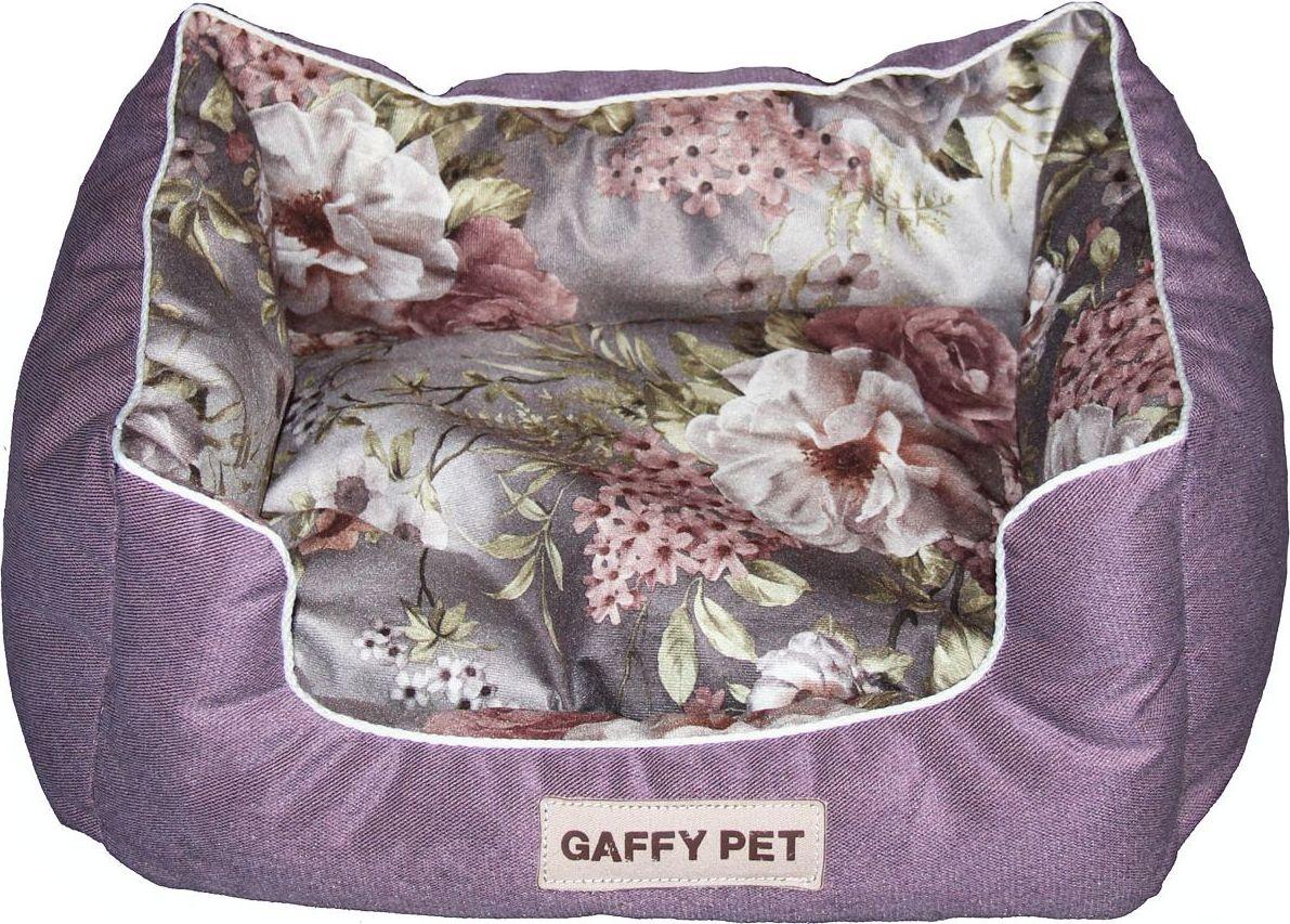 Лежак для животных Gaffy Pet Pion, цвет: фиолетовый, 55 х 45 х 23 см11201MЛежак для животных Gaffy Pet обязательно понравится вашему питомцу. Верх лежака выполнен из велюра. В качестве наполнителя используется мягкий холлофайбер. Изделие имеет высокие бортики, которые отлично держат форму. Использование профессиональных тканей дает владельцам питомцев большое преимущество в чистке и уходе без ущерба внешнему виду. Такой лежак прекрасно впишется в любой современный интерьер.