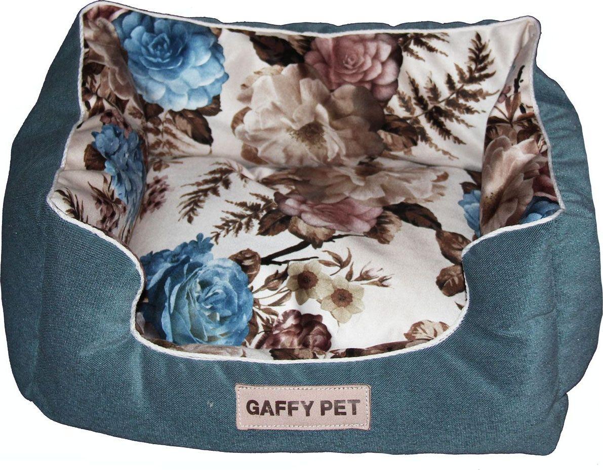 Лежак для животных Gaffy Pet Pion, цвет: синий, 45 х 35 х 22 см11202SЛежак для животных Gaffy Pet обязательно понравится вашему питомцу. Верх лежака выполнен из велюра. В качестве наполнителя используется мягкий холлофайбер. Изделие имеет высокие бортики, которые отлично держат форму. Использование профессиональных тканей дает владельцам питомцев большое преимущество в чистке и уходе без ущерба внешнему виду. Такой лежак прекрасно впишется в любой современный интерьер.