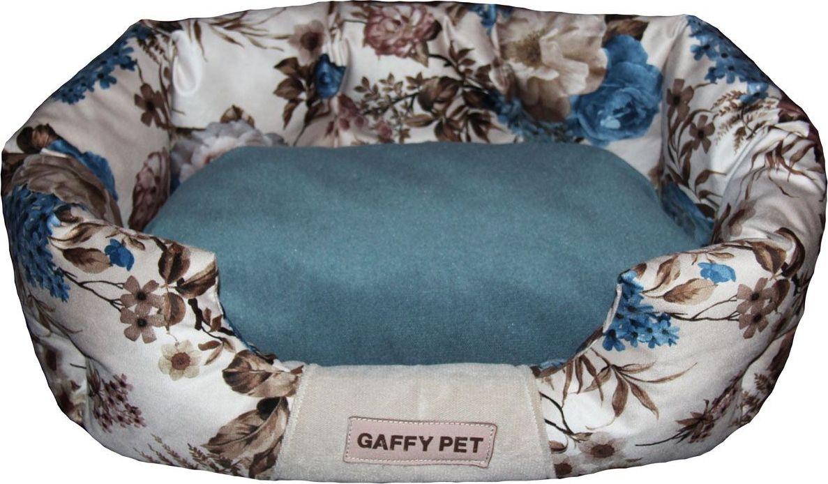 Лежак для животных Gaffy Pet One Pion, цвет: синий, 65 х 40 х 26 смЛО1мшЛежак для животных Gaffy Pet обязательно понравится вашему питомцу. Верх лежака выполнен из плотного текстиля. В качестве наполнителяиспользуется мягкий холлофайбер. Изделие имеет высокие бортики, которые отлично держат форму. Использованиепрофессиональных тканей дает владельцам питомцев большое преимущество в чистке и уходе без ущерба внешнему виду. Такой лежакпрекрасно впишется в любой современный интерьер.