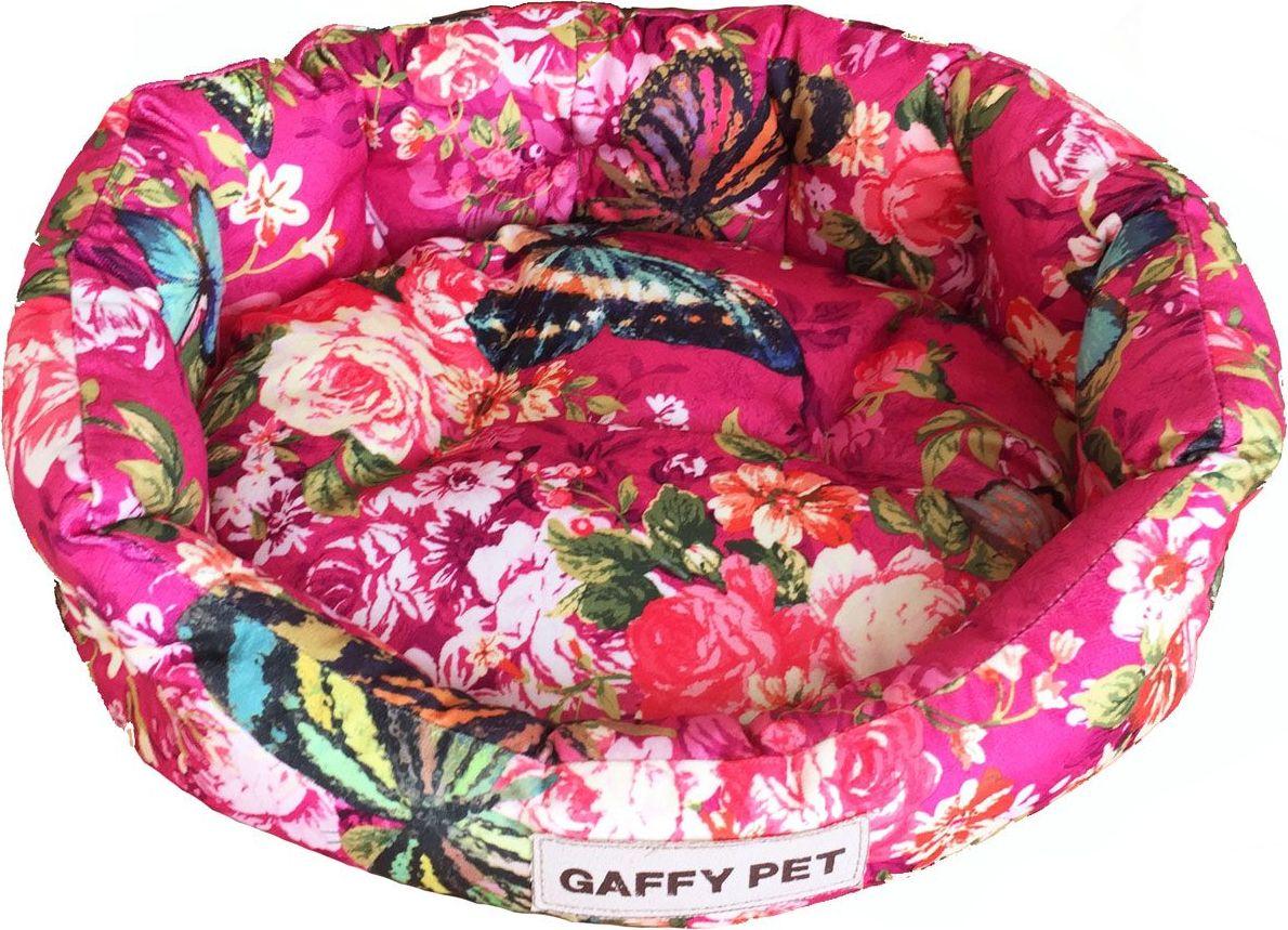 Лежак для животных Gaffy Pet Butterfly, цвет: розовый, 55 х 50 х 18 см11231MЛежак для животных Gaffy Pet Butterfly обязательно понравится вашему питомцу. Верх лежака выполнен из плотного текстиля. В качестве наполнителя используется мягкий холлофайбер. Изделие имеет высокие бортики, которые отлично держат форму. Использование профессиональных тканей дает владельцам питомцев большое преимущество в чистке и уходе без ущерба внешнему виду. Такой лежак прекрасно впишется в любой современный интерьер.