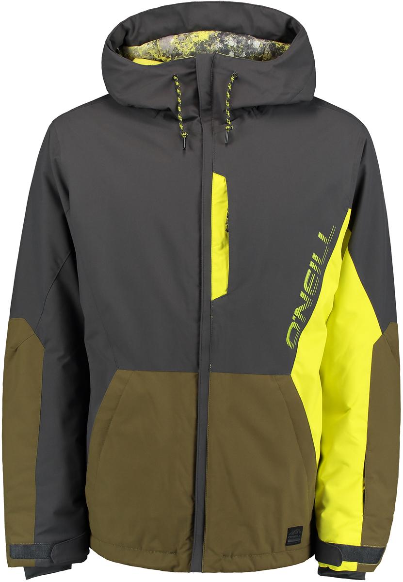 Куртка мужская ONeill Pm Suburbs Jacket, цвет: хаки, желтый. 7P0032-8026. Размер S (46/48)7P0032-8026