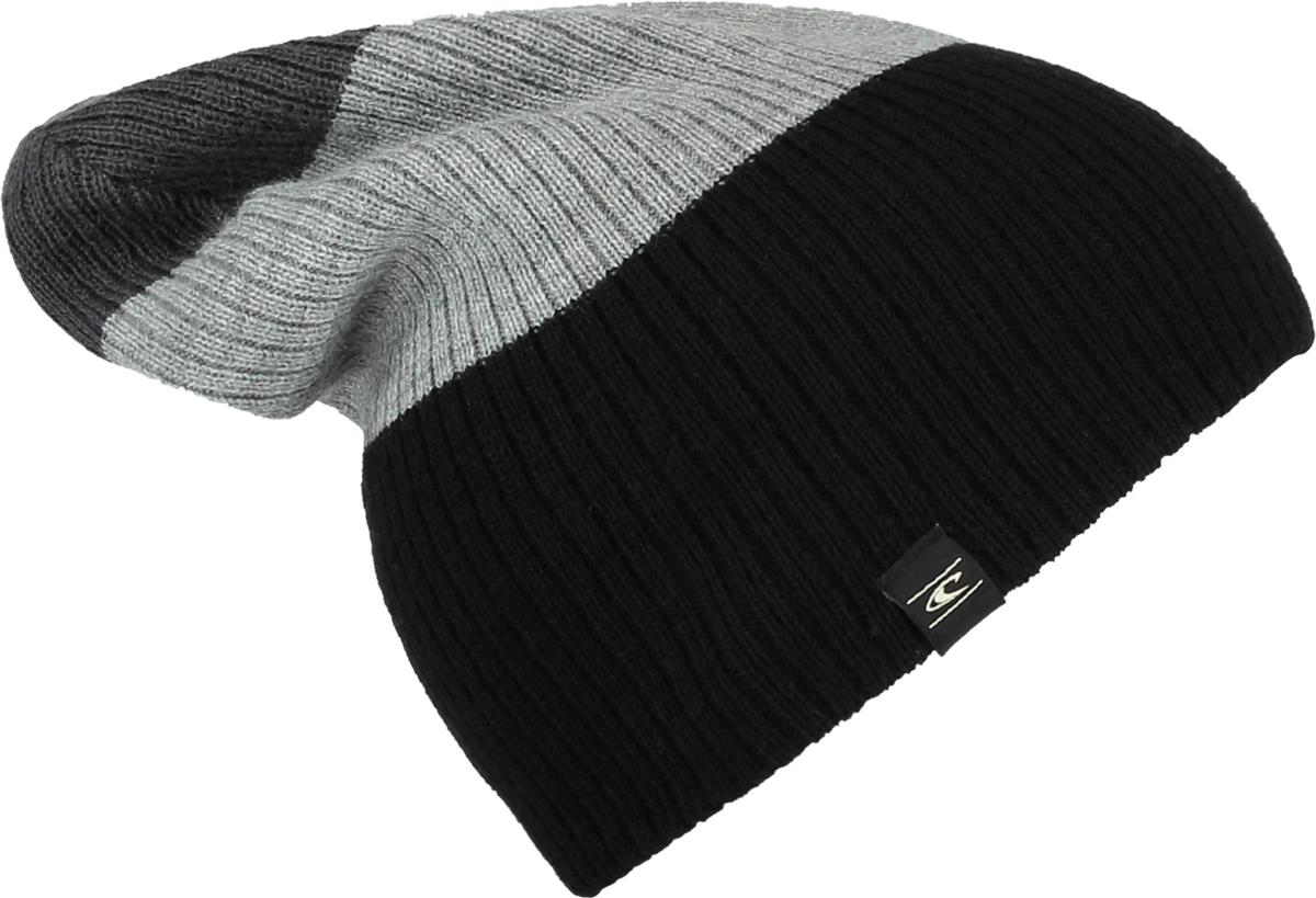 Шапка мужская ONeill Bm Reversible Block Beanie, цвет: черный, серый. 7P4127-9010. Размер универсальный7P4127-9010Мужская шапка от ONeill выполнена из акриловой пряжи. Такая стильная шапка подойдет на каждый день и согреет в холодную погоду.