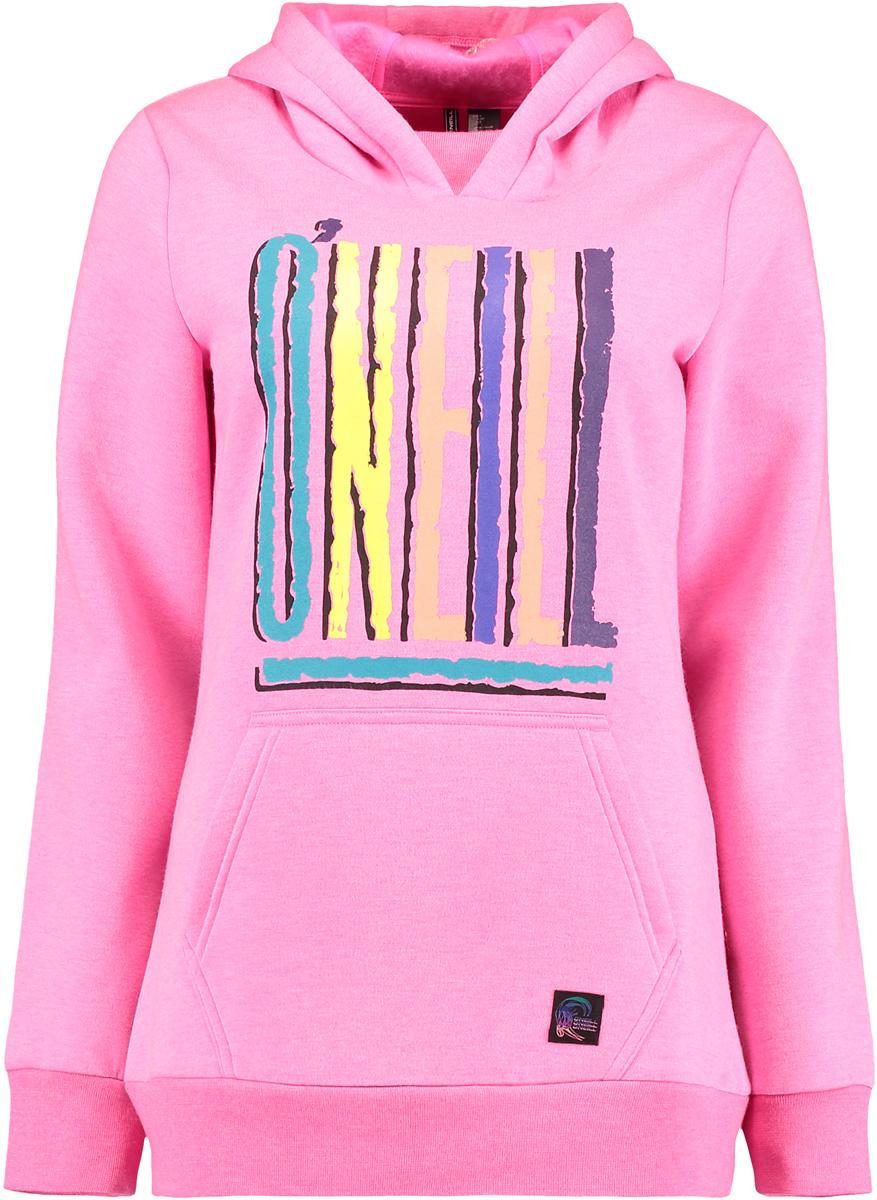 Толстовка женская O'Neill Pw 91' X-Treme Hoodie, цвет: розовый. 7P5230-4041. Размер XL (50/52)
