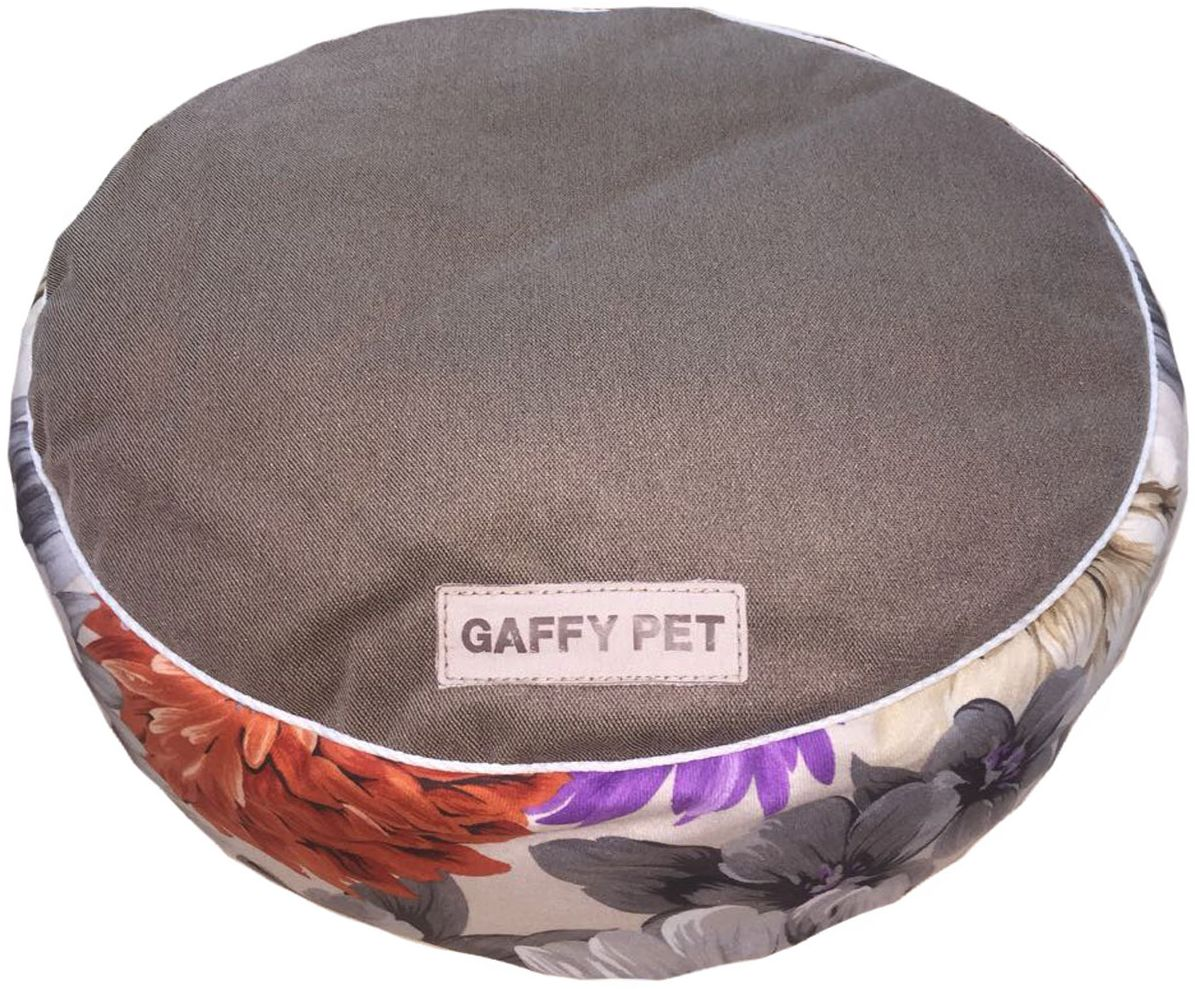 Пуф для животных Gaffy Pet Flower, цвет: шоколадный, 60 х 60 х 15 см10011412Невероятно удобный и красивый пуф Gaffy Pet очень понравится вашему любимцу. Высота не менее 15 см дает ощутимую мягкость и удобство в использовании. Коллекция Цветысделана из приятного на ощупь вельвета. Ткань профессиональная, прочная, не истирается и подвергается любой чистке.