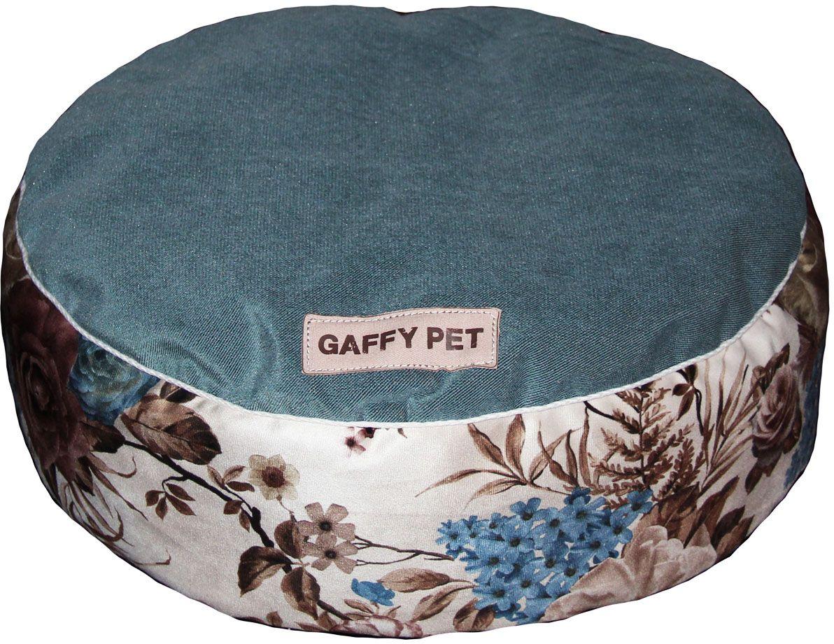 Пуф для животных Gaffy Pet Pion, цвет: синий, 60 х 60 х 15 см11208 SНевероятно удобный и красивый пуф Gaffy Pet очень понравится вашему любимцу. Высота не менее 15 см дает ощутимую мягкость и удобство в использовании. Коллекция Цветы сделана из приятного на ощупь вельвета. Ткань профессиональная, прочная, не истирается и подвергается любой чистке.