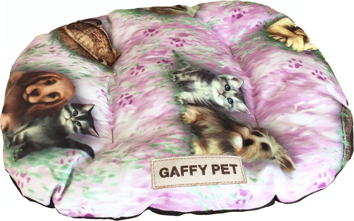 Подушка для животных Gaffy Pet Pets, цвет: розовый, 55 х 35 см11234 SНовая коллекция из серии PETS из прочных профессиональных тканей. АНТИКОГОТЬ. Высота борта впереди варьируется. Очаровательная расцветка, подойдет как кошкам, так и собакам. Можно стирать на ручном режиме в стиральной машине и чистить щеткой.